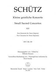 Short Sacred Concertos Book 14: O Jesu, nomen dulce (SWV 308); O misericordissime (SWV 309)