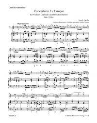 Concerto in F major for Violin, Harpsichord & String Orchestra (Hob.XVIII:6*) (Harpsichord)