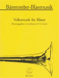 Folk Music for Brass Ensemble (Playing Score)