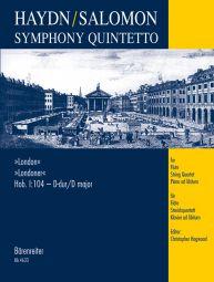 Symphony Quintetto after Symphony No.104 in D major (London) (Hob.I:104) arr. Salomon (Score & Parts