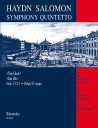 Symphony Quintetto after Symphony No.101 in D major (Clock) (Hob.I:101) arr. Salomon (Score & Parts)