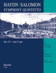 Symphony Quintetto after Symphony No.97 in C major (Hob.I:97) arr. Salomon (Score & Parts)