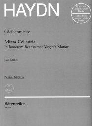 Missa Cellensis (Cecilia Mass) (Hob.XXII:5) (Full Score)