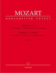 Quintet for Clarinet, two Violins, Viola and Violoncello in A major (K.581) (Stadler Quintet)