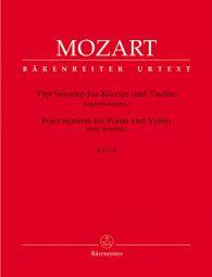 Sonatas for Violin and Piano Volume 1: Four Early Sonatas K.6-9