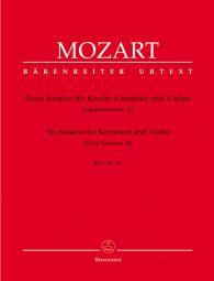 Sonatas for Violin and Piano Volume 3: Six Early Sonatas K.26-31