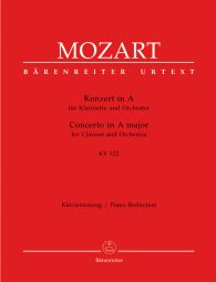Concerto for Clarinet in A major (K.622) (Clarinet in A & Piano)