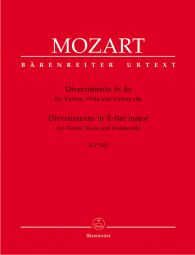Divertimento in E-flat major for Violin, Viola and Violoncello (K.563)