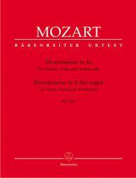 Divertimento in E-flat major for Violin, Viola and Violoncello (K.563)