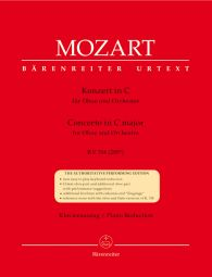 Concerto for Oboe in C major (K.314) (Oboe & Piano)