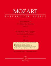 Concerto for Violin No.3 in G major (K.216) (Violin & Piano)
