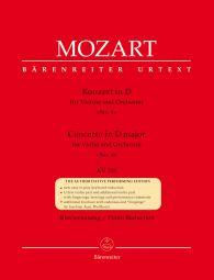Concerto for Violin No.4 in D major (K.218) (Violin & Piano)