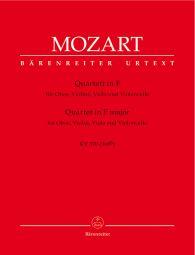 Quartet for Oboe, Violin, Viola and Violoncello in F major (K.370)