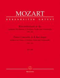 Concerto for Piano No.14 in E-flat major (K.449) (Chamber Edition, Score & Parts)