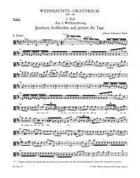 Christmas Oratorio (BWV 248) (Viola)