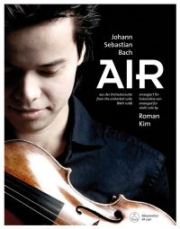 Air from the Orchestral Suite (BWV 1068) arranged for Violin Solo