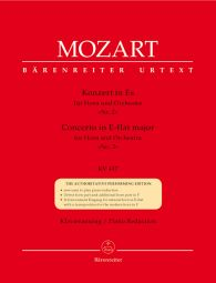 Concerto for Horn No.2 in E-flat major (K.417) (Horn & Piano)