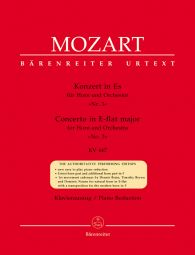 Concerto for Horn No.3 in E-flat major (K.447) (Horn & Piano)