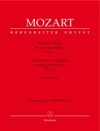 Concerto for Horn No.1 in D major (K.412 + K.514) (Piano Reduction)