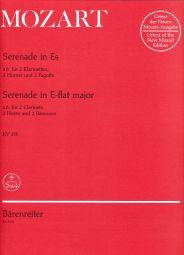 Serenade in E-flat major K.375 Sextet version (Parts)