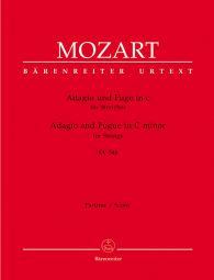 Adagio and Fugue for Strings in C minor (K.546) (Score & Parts)