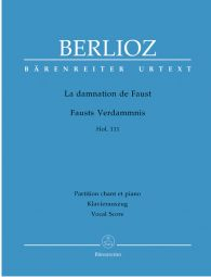 La damnation de Faust (The Damnation of Faust) Op.24 (Vocal Score)