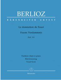 La damnation de Faust (The Damnation of Faust) Op.24 (Vocal Score)