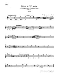 Mass in C major (K.317) (Coronation Mass) (Arrangement for female choir SMezA) Wind set