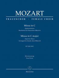 Missa brevis in C major (K.220) (Sparrow Mass) (Vocal Score)