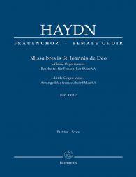 Missa brevis St Joannis de Deo (Little Organ Mass) (Hob.XXII:7) (Full Score)