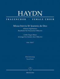 Missa brevis St Joannis de Deo (Little Organ Mass) (Hob.XXII:7) (Vocal Score)