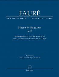 Requiem Op.48 (Arrangement for female choir SSAA) (Vocal Score)