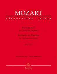 Concerto for Violin in D major (K.271a) (Violin & Piano)