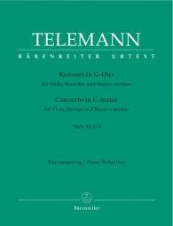 Concerto for Viola in G major (TWV 51: G9) (Viola & Piano)