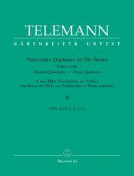 Paris Quartets Vol.2 (Score & Parts)