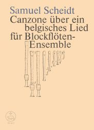 Canzona on a Belgian Song (Score & Parts)