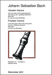 14 Canons (2-6 pt) (BWV 1087)