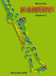 Das Klarinettenspiel Repertoire Book 2 (Clarinet Tutor for Individual and Group Teaching)