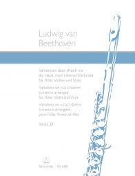 Variations on La Ci Darem La Mano from Don Giovanni (WoO 28)