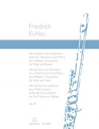 Introduction and Variations Op.63 on a Theme from Carl Maria von Weber's Euryanthe (Flute & Piano)