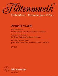 Concerto for Flute in D major RV783 (Flute & Piano)