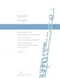 London Trios for Two Flutes & Cello  (Hob.IV:1-4)
