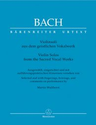 Violin Solos from the Sacred Vocal Works
