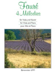 4 Melodies for Viola & Piano