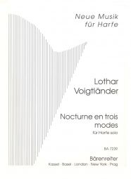 Nocturne in Three Modes for Solo Harp.