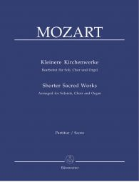 Shorter Sacred Works (arranged for Choir & Organ)