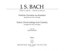 Festive Choral Settings from Cantatas (arranged for Choir & Organ) (Organ)