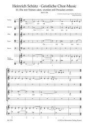 Die mit Tränen säen SWV 378 No.10 from Geistliche Chor-Music
