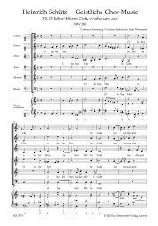 O lieber Herre Gott, wecke uns auf SWV 381 No.13 from Geistliche Chor-Music