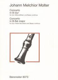 Concerto in B-flat (Score & Parts)